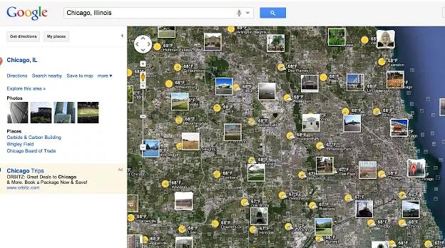 Google地图插件截图