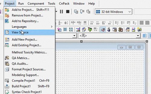 Delphi IDE中英文一键切换助手截图1