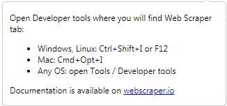 Web Scraper截图