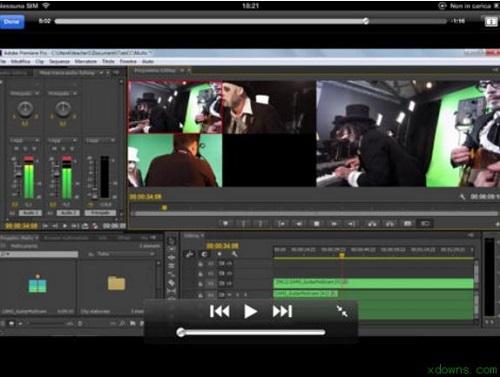 Premiere非編視頻大師軟件教程截圖1