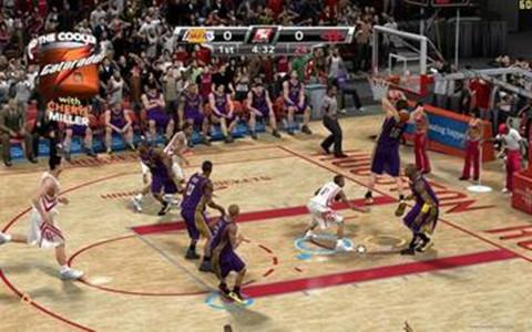 NBA篮球2009截图
