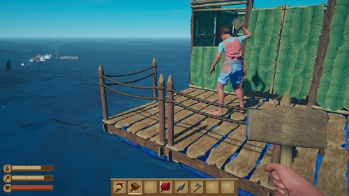 木筏生存截图