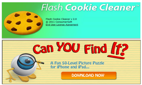 Flash Cookie清理工具截图