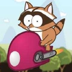 小浣熊救兔子LOGO