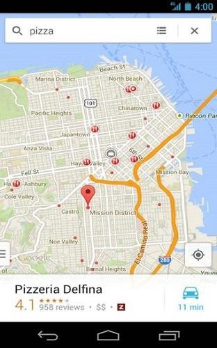 谷歌手机地图Google Maps Palm OS截图1