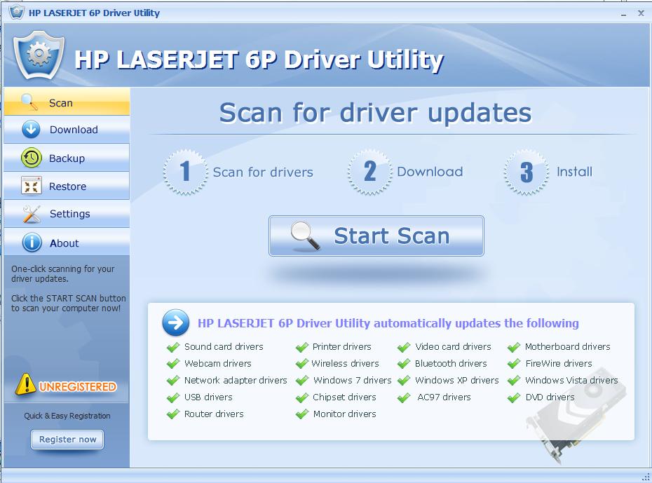 HP惠普LaserJet 6P黑白激光打印机截图