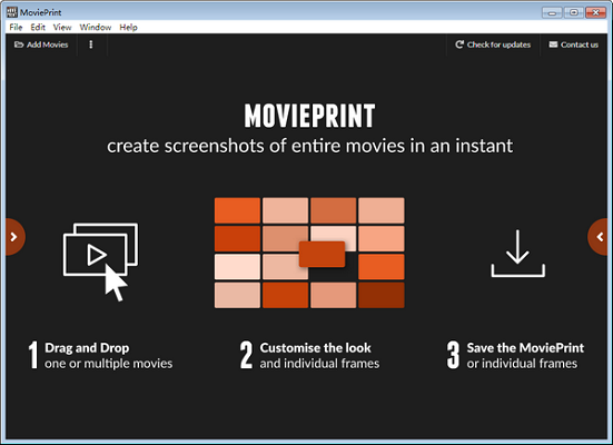 MoviePrint截图