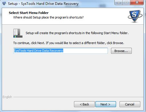 SysTools Hard Drive Data Recovery截图