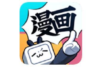嗶哩嗶哩漫畫段首LOGO