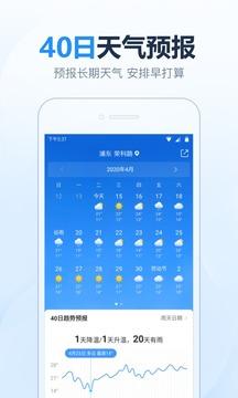 2345天气预报截图