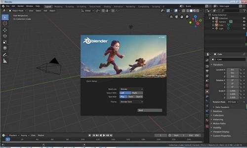 Blender(建模软件)截图1
