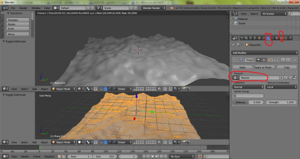 Blender(建模软件)截图