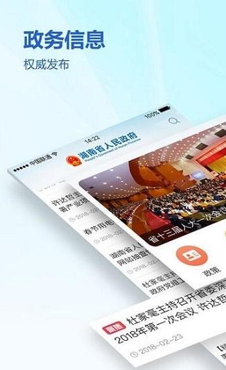 湖南政务服务网截图3