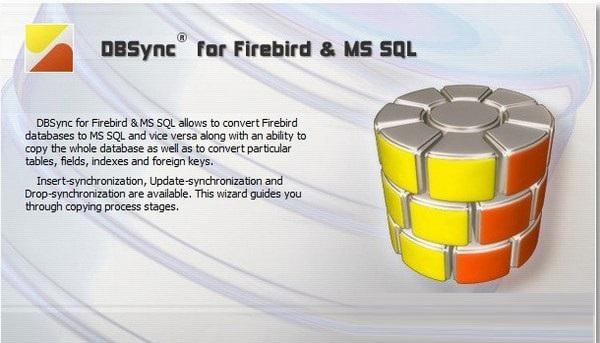 DBSync for Firebird and MSSQL截图