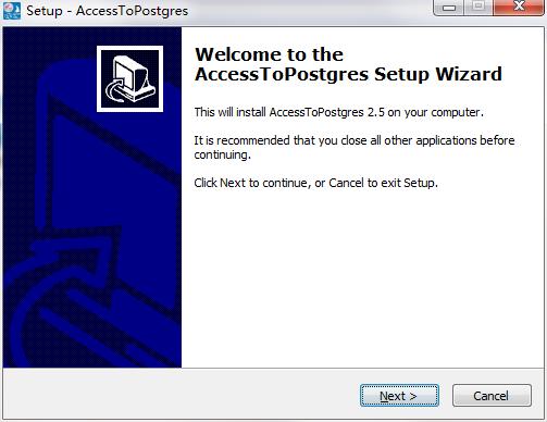 AccessToPostgres截图