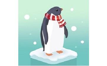 企鹅岛段首LOGO
