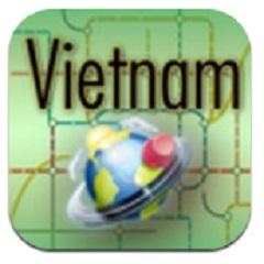 越南地图LOGO
