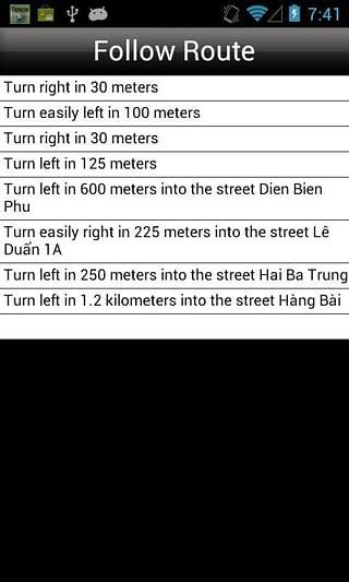 越南地图截图