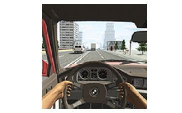 真实模拟驾驶汽车段首LOGO
