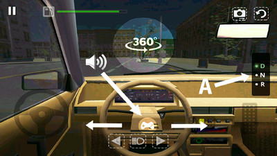 真实模拟驾驶汽车截图