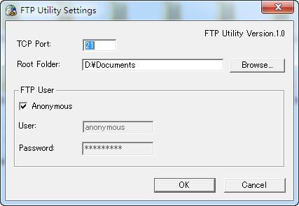 KONICA MINOLTA FTP Utility(打印机扫描工具)截图1