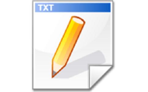 新建TXT文档段首LOGO