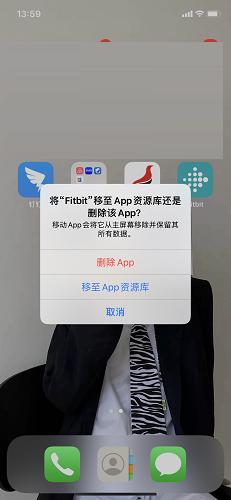 Fitbit 中國截圖