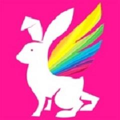 彩虹兔LOGO