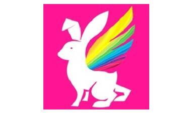 彩虹兔段首LOGO