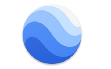 谷歌地球2021段首LOGO