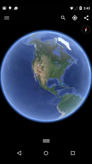 谷歌地球2021截圖