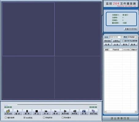 监控264文件播放器截图