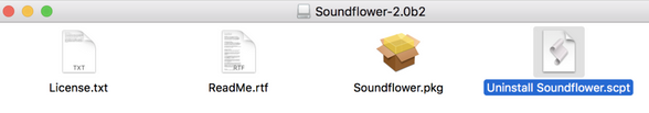 Soundflower截图