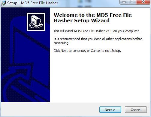 MD5 Free File Hasher截图