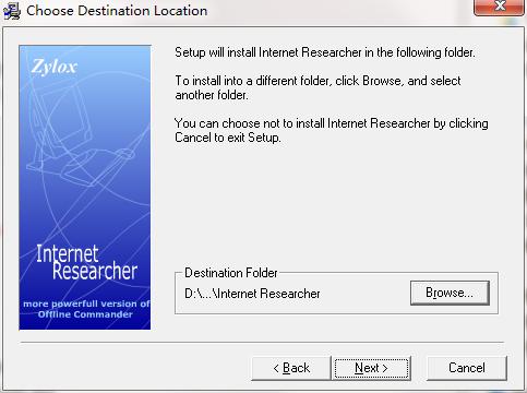 Internet Researcher截图