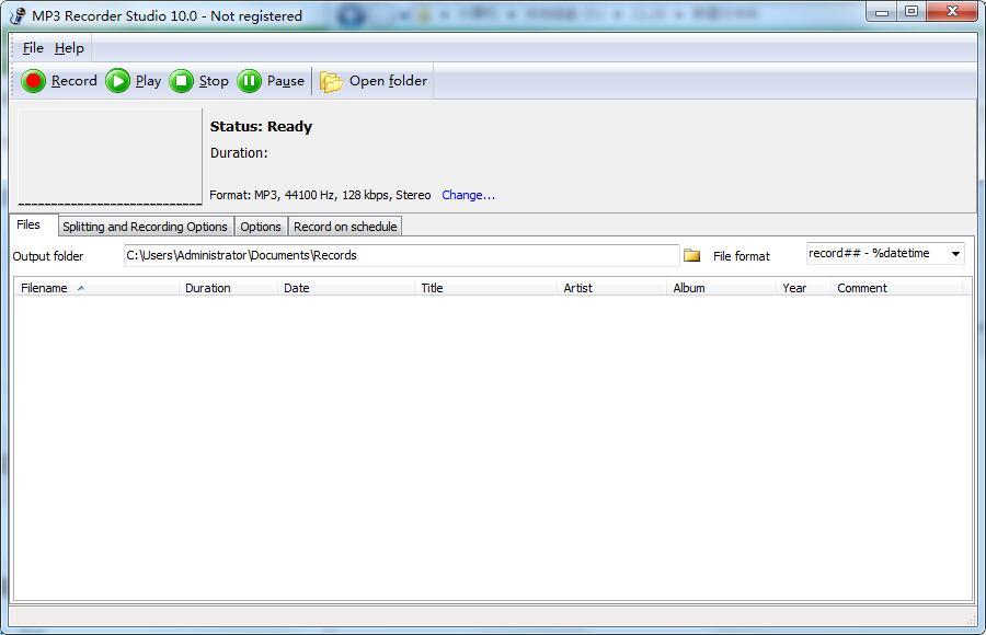 MP3 Recorder Studio截图1