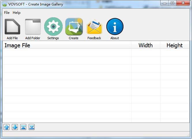 Create Image Gallery截图
