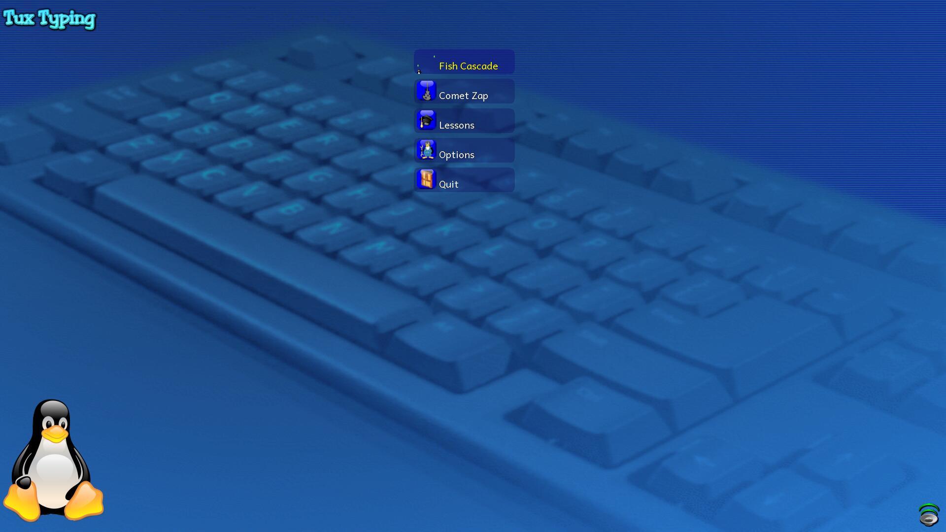 Tux Typing截图