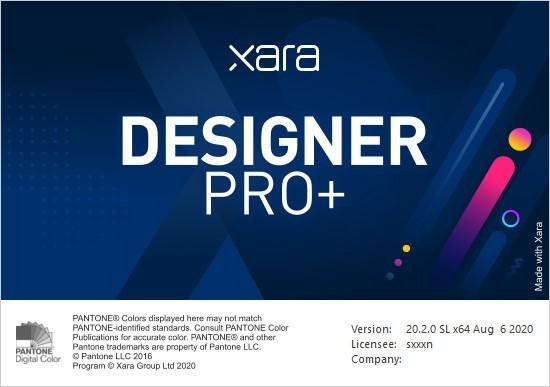 Xara Designer Pro Plus截图1