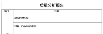 质量分析报告截图1