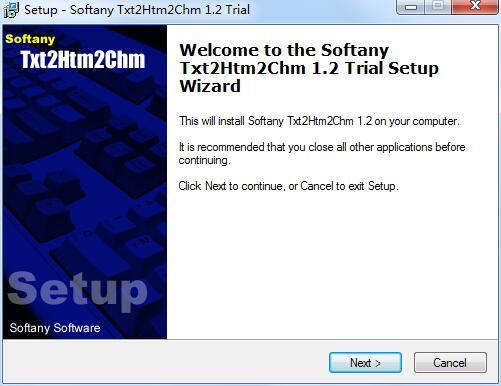 Softany Txt2Htm2Chm截图