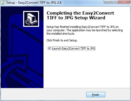 Easy2Convert TIFF to JPG截图