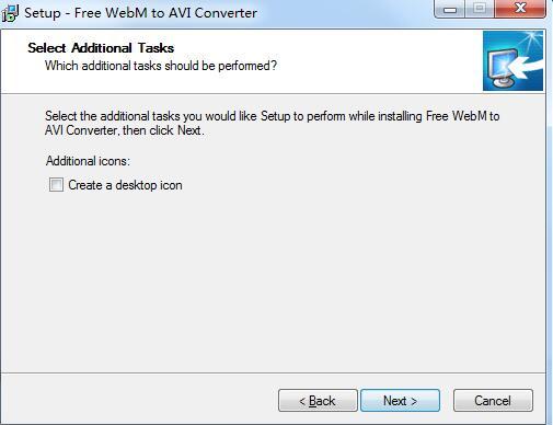 Free WebM to AVI Converter截图