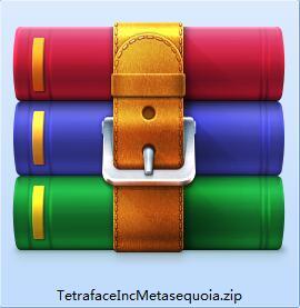 Tetraface Inc Metasequoia截图