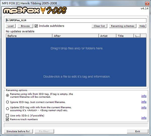 MP3 Fox截图