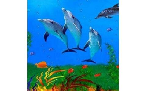 海底世界动态屏保段首LOGO