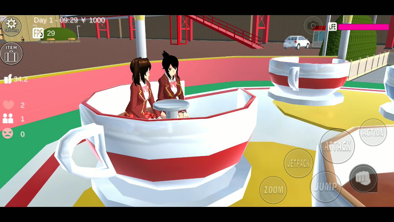 樱花校园模拟器截图5