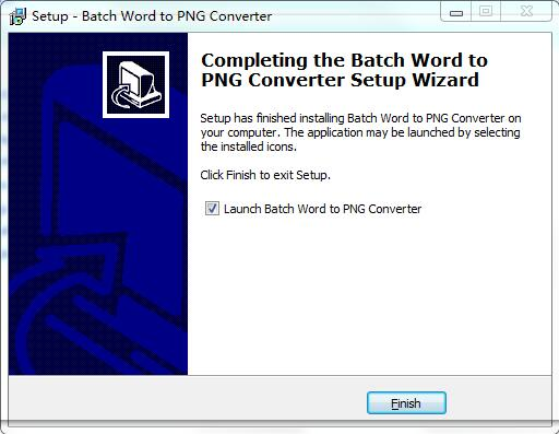 Batch Word to PNG Converter截图