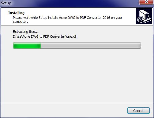 Acme DWG to PDF Converter截图