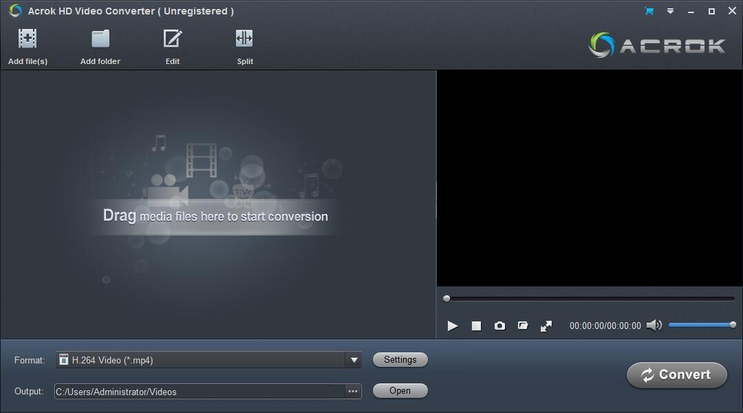 Acrok HD Video Converter截图1